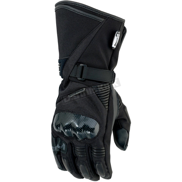 Moose Black ADV1 Gloves - 3330-3246