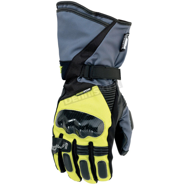 Moose Hi Viz Yellow ADV1 Gloves - 3330-3251