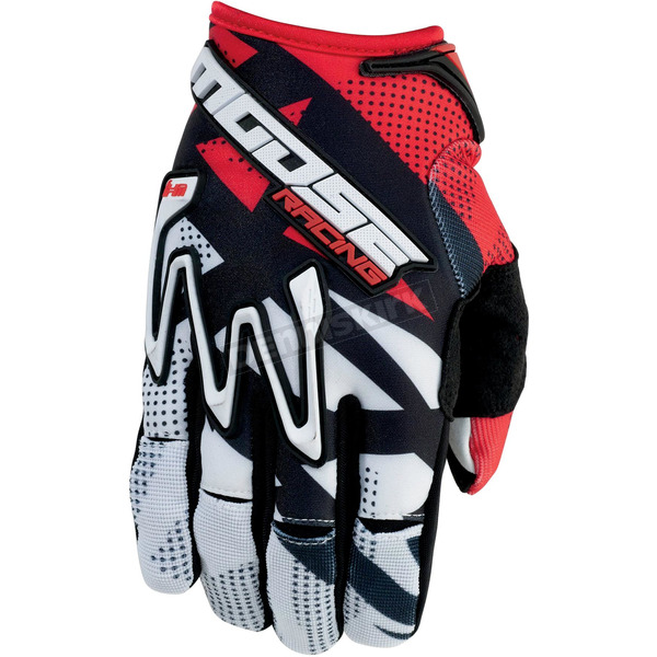 Moose Red MX1 Gloves - 3330-3301
