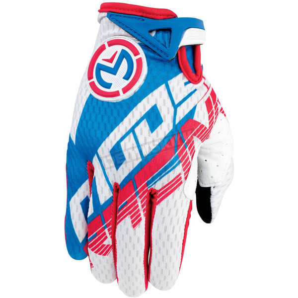 Moose Red/White/Blue SX1 Gloves - 3330-3343