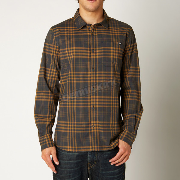 Fox Black Vintage Koal Shirt - 14587-587-M