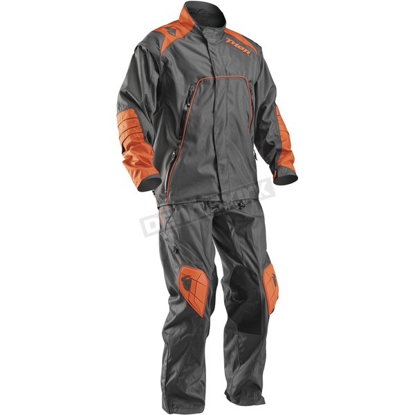 Thor Charcoal/Orange Range Outer Layer Pants - 2901-5627