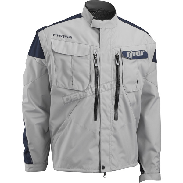 Thor Cement/Navy Outer Layer Phase Jacket - 2920-0423