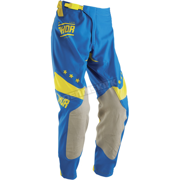 Thor Blue/Yellow Prime Fit Squad Pants - 2901-5663