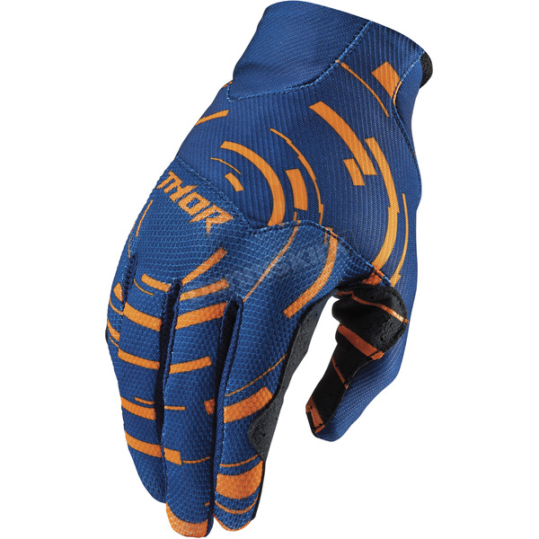 Thor Circulus Orange Void Plus Gloves - 3330-3457