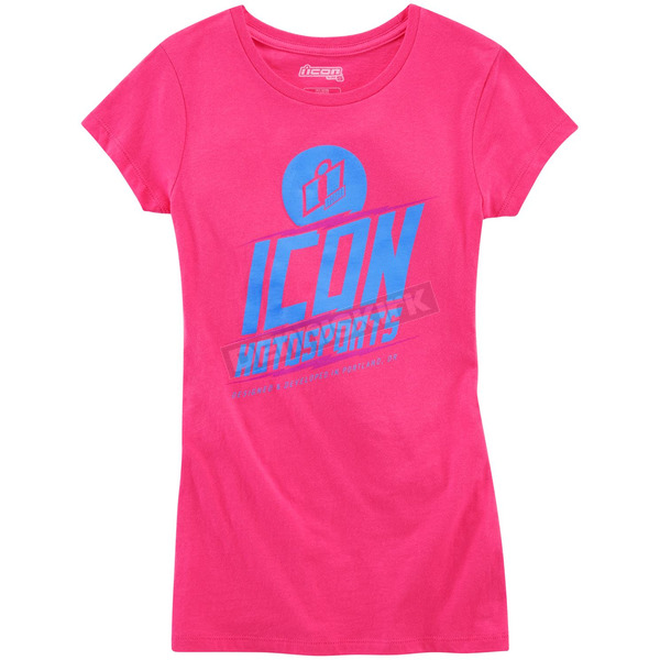 Icon Women's Pink Charged T-Shirt - 3031-2503