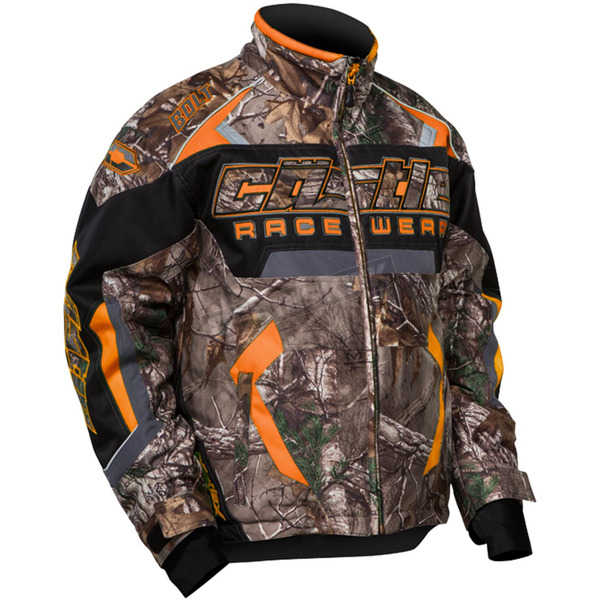 Castle X Youth Realtree Xtra/Orange Bolt G3 Jacket - 72-4528