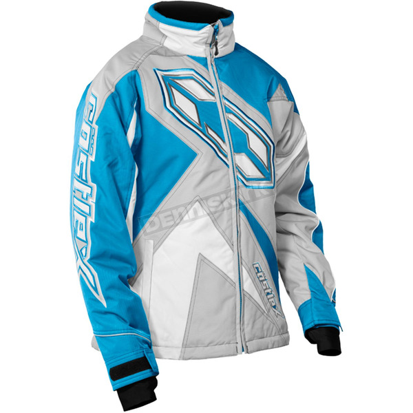 Castle X Girl's Gray/Reflex Blue Launch SE G3 Jacket - 72-4701