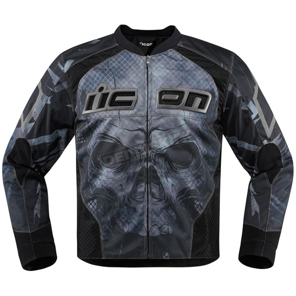 Icon Black Overlord Reaver Jacket - 2820-3493