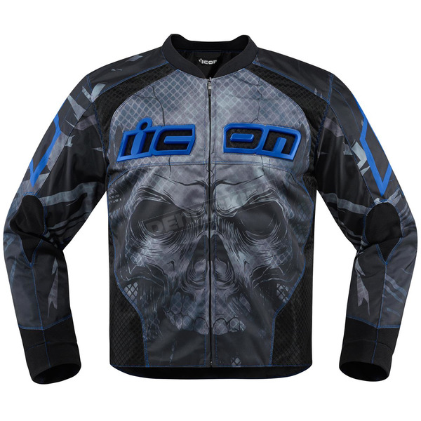 Icon Blue Overlord Reaver Jacket - 2820-3504