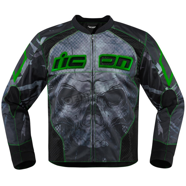 Icon Green Overlord Reaver Jacket - 2820-3505