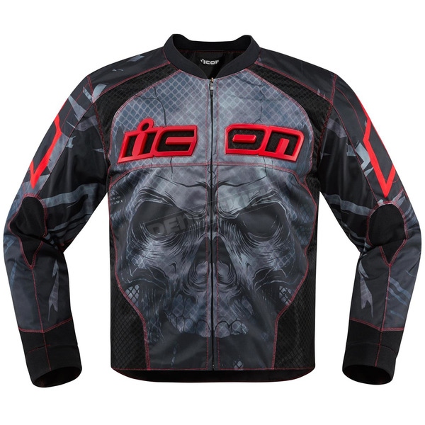 Icon Red Overlord Reaver Jacket - 2820-3514