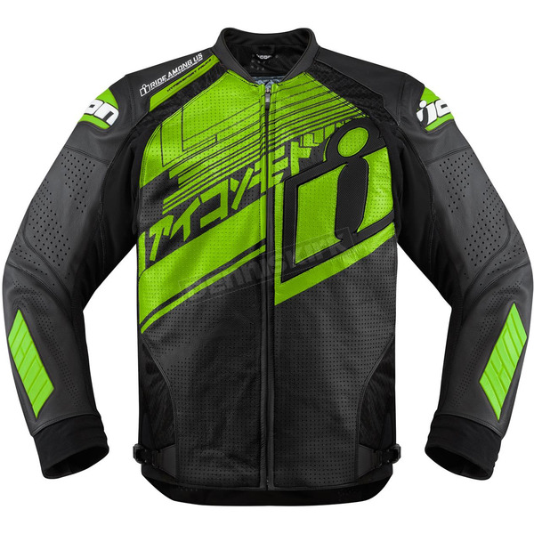 Icon Green Hypersport Prime Hero Jacket - 2810-2811