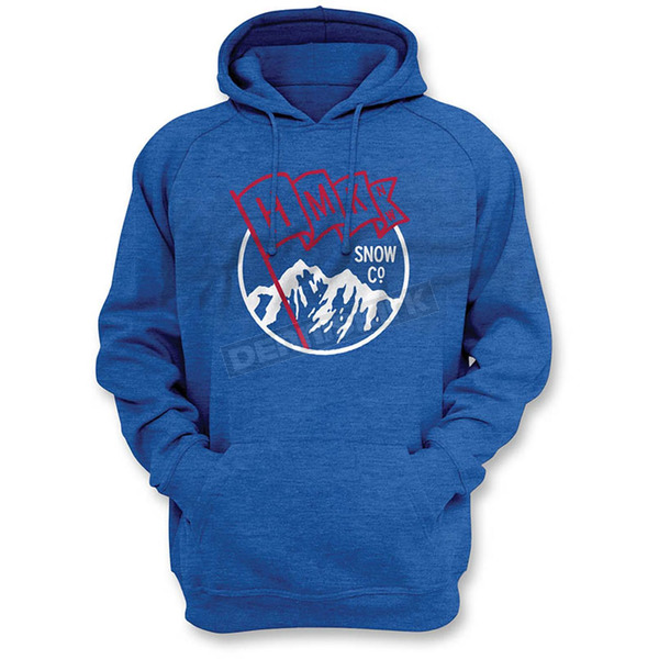 HMK Blue Flag Pullover Hoody - HM2HDYFLABLS