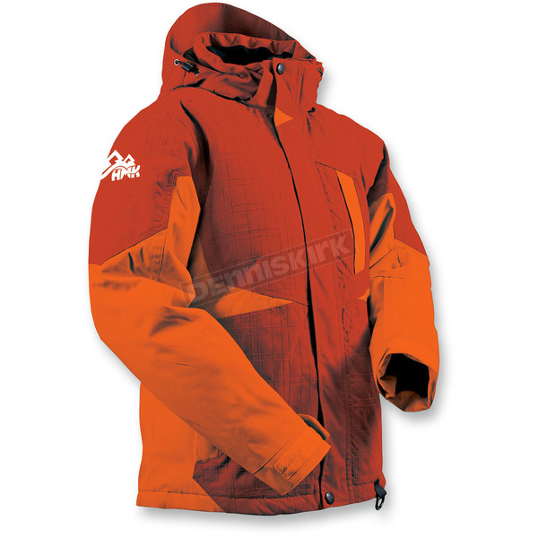 HMK Women's Orange Dakota Jacket - HM7JDAKOMD