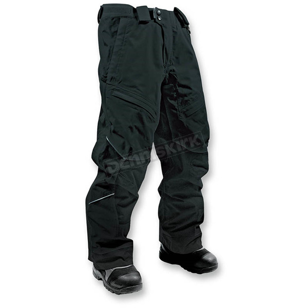 HMK Women's Black Action 2 Pants - HM7PACT2WBLS