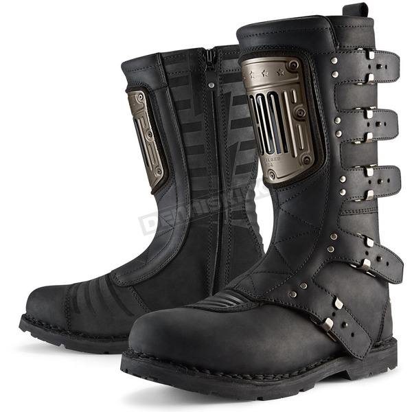 Icon 1000 Black Elsinore HP Boots - 3403-0803