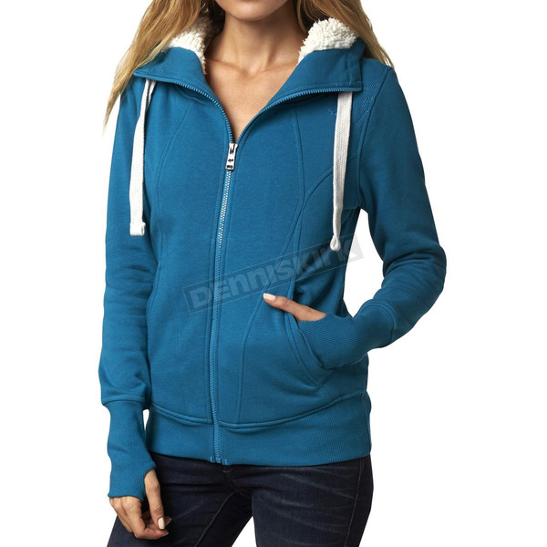 Fox Women's Emerald Cliffhanger Sherpa Zip Hoody - 14619-294-XS