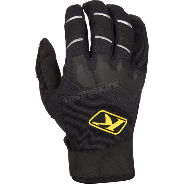 Klim Black Dakar Gloves - 3167-002-130-000