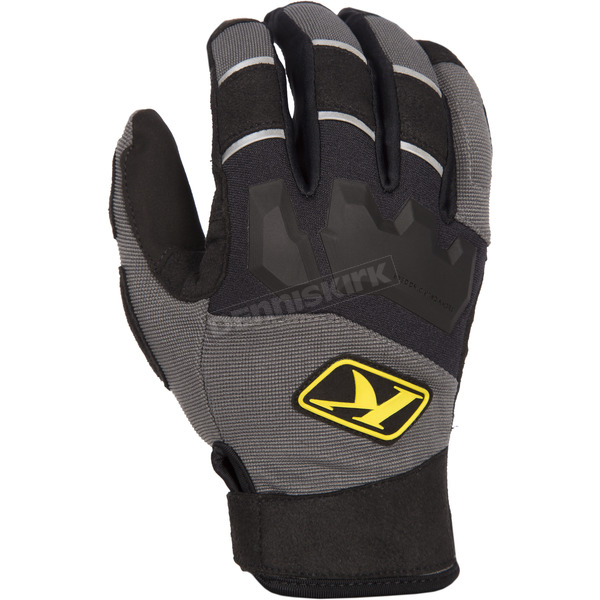 Klim Gray Dakar Gloves - 3167-002-140-600