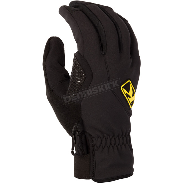 Klim Black Inversion Gloves - 3161-002-130-000