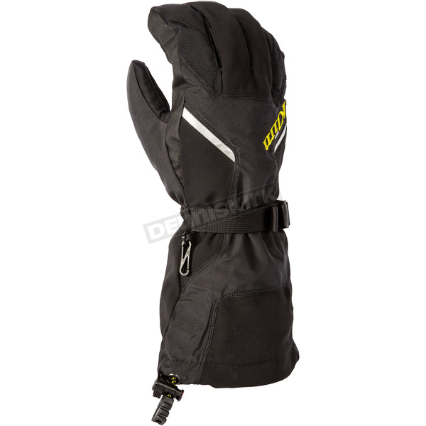 Klim Black Klimate Gloves - 3239-003-130-000