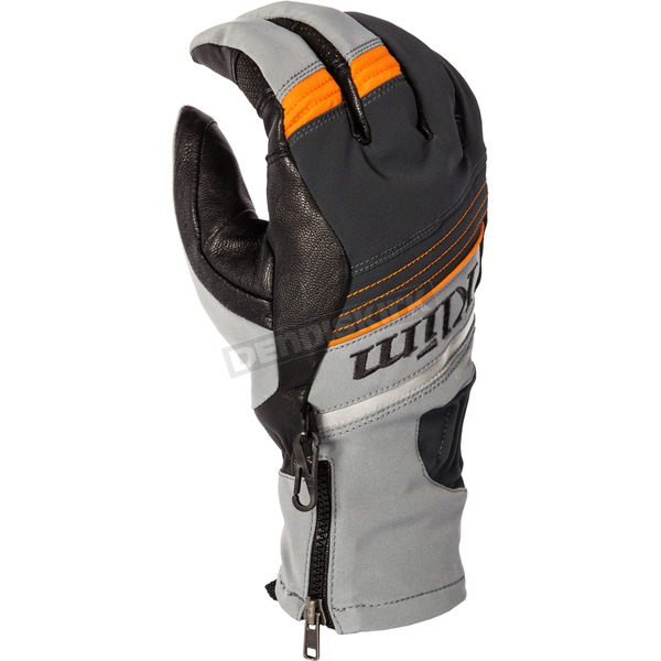 Klim Gray PowerXross Gloves - 3438-005-120-600