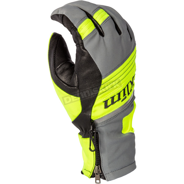 Klim Hi-Vis PowerXross Gloves  - 3438-005-130-500