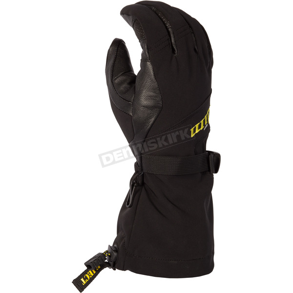Klim Black Sawtelle Gloves - 3334-000-140-000