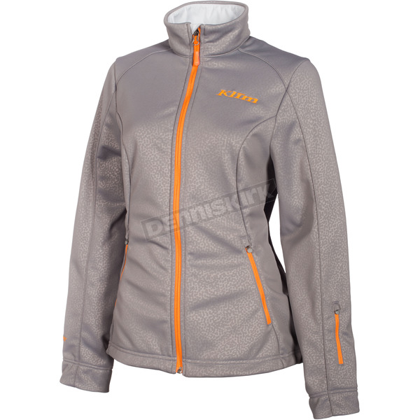 Klim Women's Gray Whistler Jacket - 4023-002-130-600