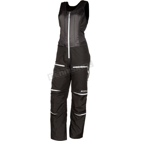 Klim Women's Black Allure Bibs - 3376-005-120-000