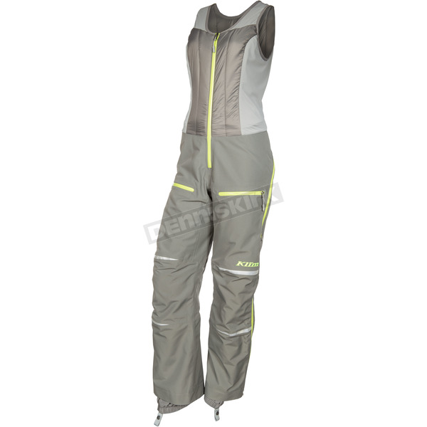 Klim Women's Gray Allure Bibs - 3376-005-120-600
