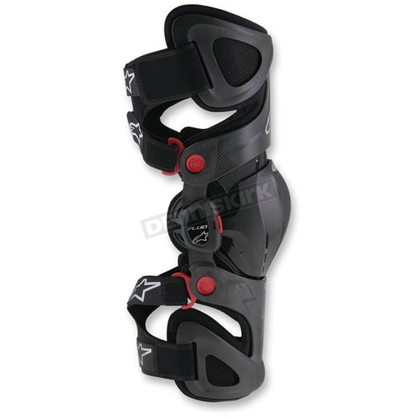 Alpinestars Left Fluid Tech Knee Brace - 6500416-1430-SL