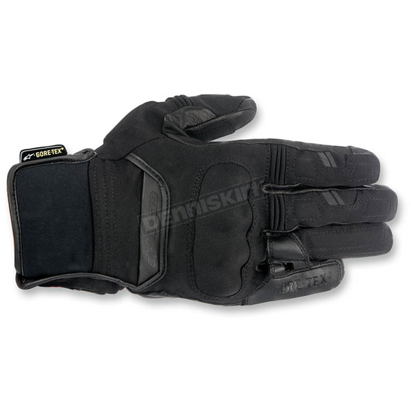 Alpinestars Black Polar Goretex Gloves - 3525116-10-XL