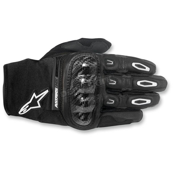 Alpinestars Black Megawatt Hard Knuckle Gloves - 3565016-10-2X