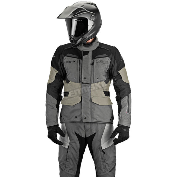 Alpinestars Gray/Black/Sand Durban Gore-Tex Jacket - 3601016-918-58