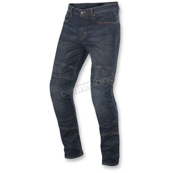 Alpinestars Greaser Dirty Crank Denim Pants - 3328616-7012-32