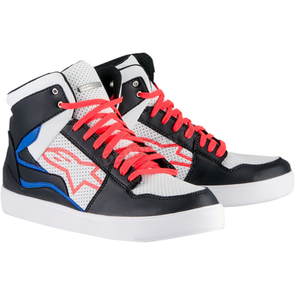 Alpinestars Black/White/Red/Blue Stadium Shoes - 2519115123713.5