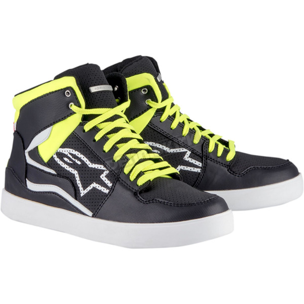 Alpinestars Black/Yellow Stadium Shoes - 251911515367.5