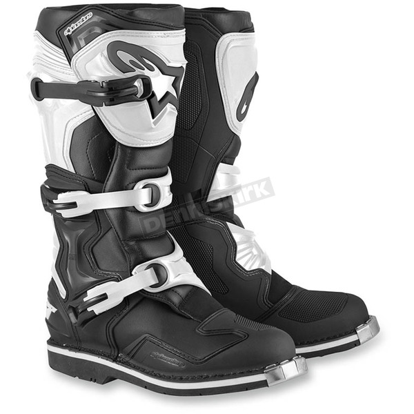 Alpinestars Black/White Tech 1 Boots - 2015015-12-12