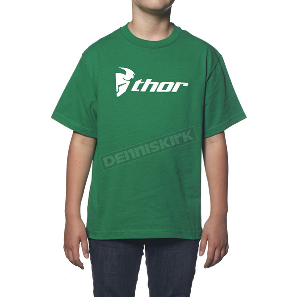Thor Youth Kelly Green Loud N Proud T-Shirt - 3032-2182