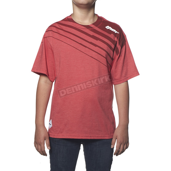 Thor Youth Red Heather Rogue T-Shirt - 3032-2255