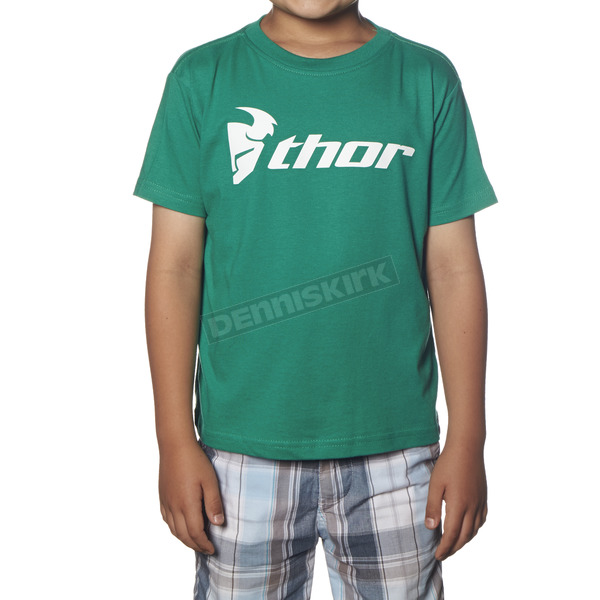 Thor Toddler Kelly Green Loud N Proud T-Shirt - 3032-2274