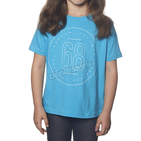 Thor Toddler Turquoise Button T-Shirt - 3032-2352