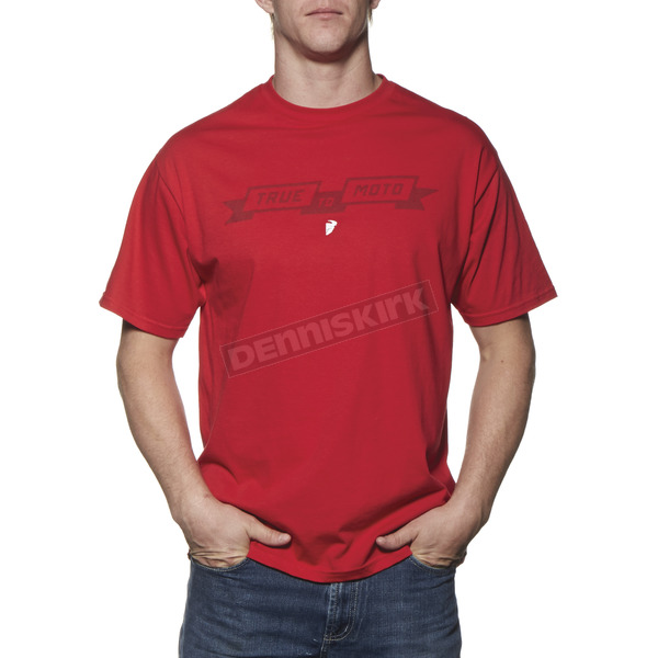 Thor Red Pure Moto T-Shirt - 3030-12781