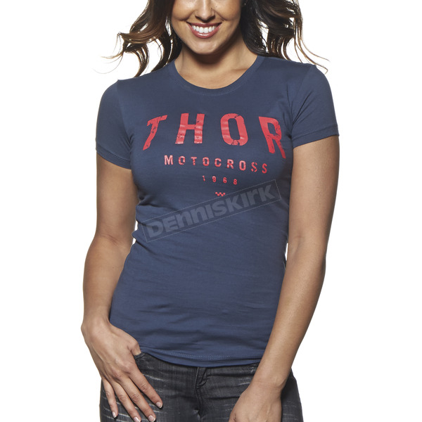 Thor Womens Indigo Shop T-Shirt - 3031-2550
