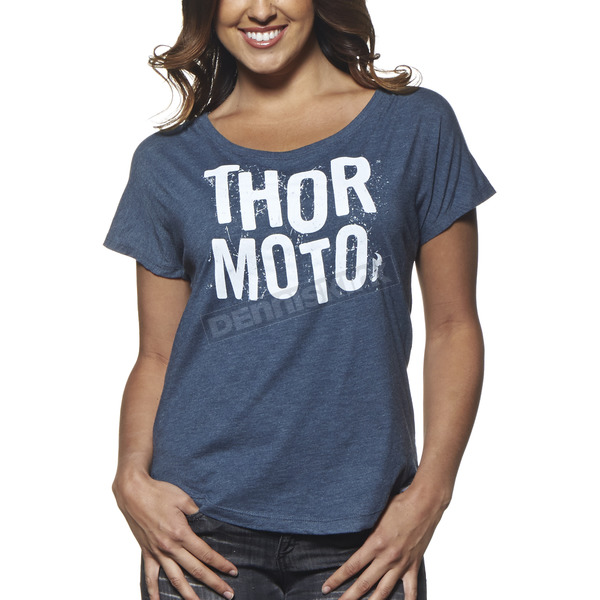 Thor Womens Indigo Crush T-Shirt - 3031-2585