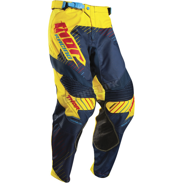 Thor Yellow/Navy Core Hux Pants - 2901-5683