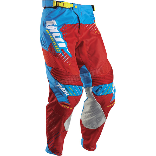 Thor Red/Cyan Core Hux Pants - 2901-5689