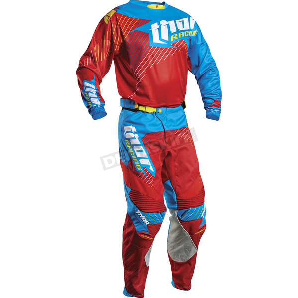 Thor Red/Cyan Core Hux LE Jersey - 2910-3811